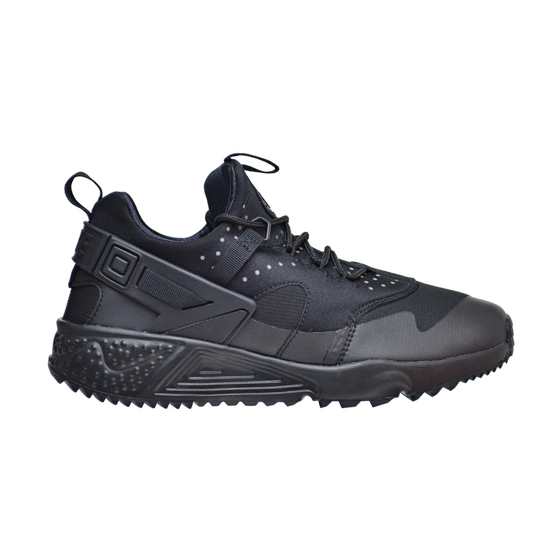 ea203ee99b5f Galleon - Nike Mens Air Huarache Utility Black Black Black Running Shoe 8  Men US