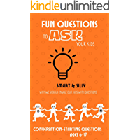fun questions to ask your kids: Why We Should Engage Our Kids With Questions, smart and silly conversation starting…