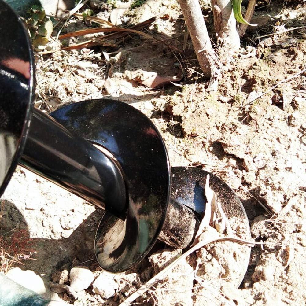 Sixbagin Auger Drill Bit,3 x 10 Garden Plant Flower Bulb Auger, Garden Auger Spiral Drill Bit Accessories for Planting Bedding Bulbs ,HEX Shaft Auger