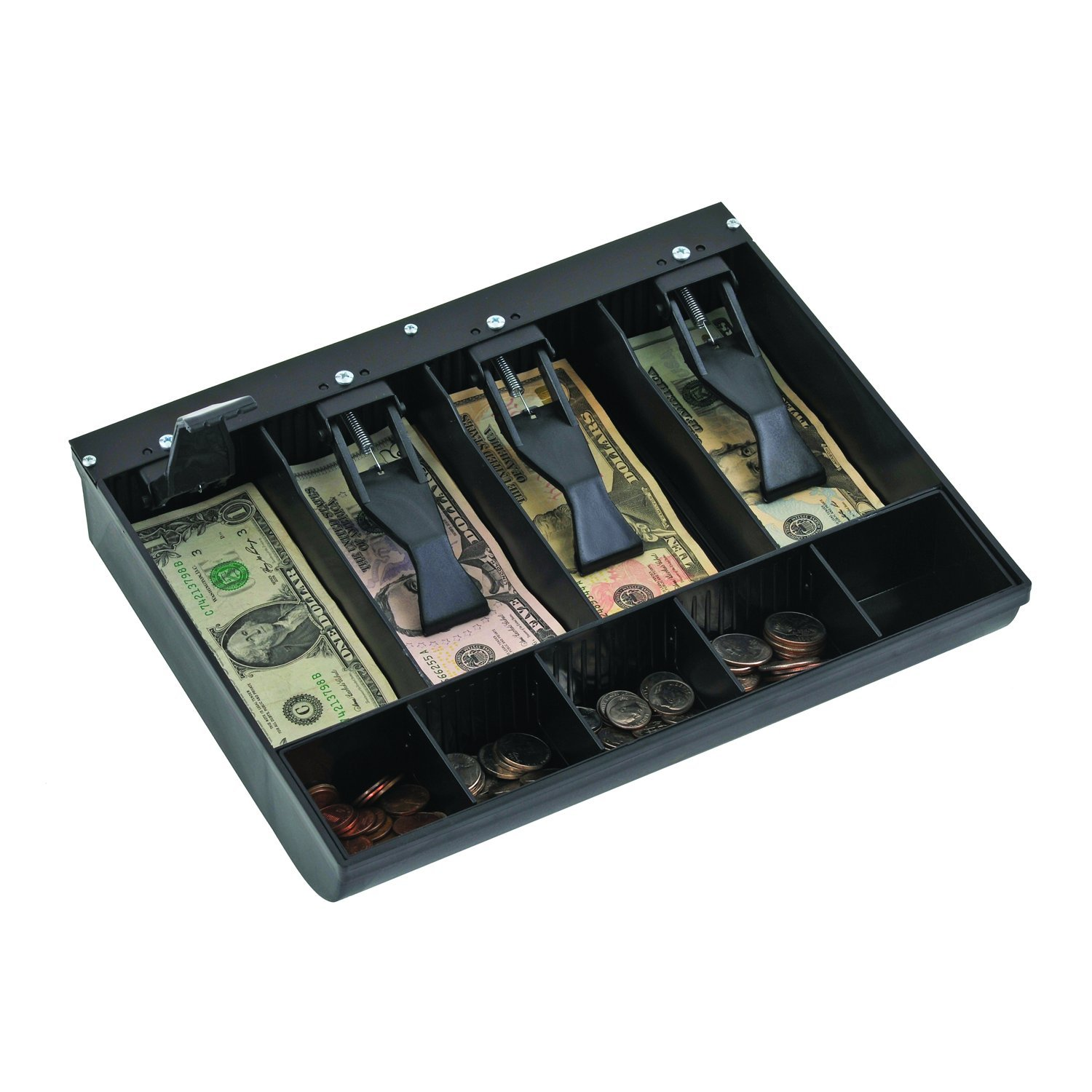 STEELMASTER 2.19 x 9.63 x 11.5 Inches, Replacement Cash Tray for Model 1046, Black (225284304) by MMF Industries (Image #2)