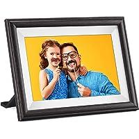 Deals on Pastigio 10.1-in HD Wooden Digital Photo Frame
