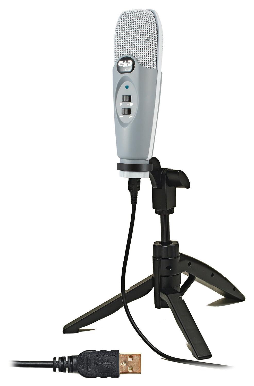 CAD Audio U37 USB Studio Condenser Recording Microphone AMS-U37
