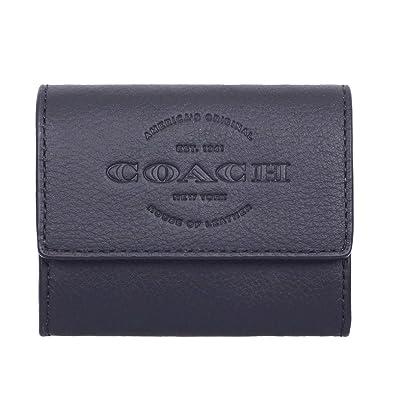 8b06a70c44a1 [コーチ] COACH 財布 (コインケース) F24652 ブラック BLK レザー コインケース メンズ