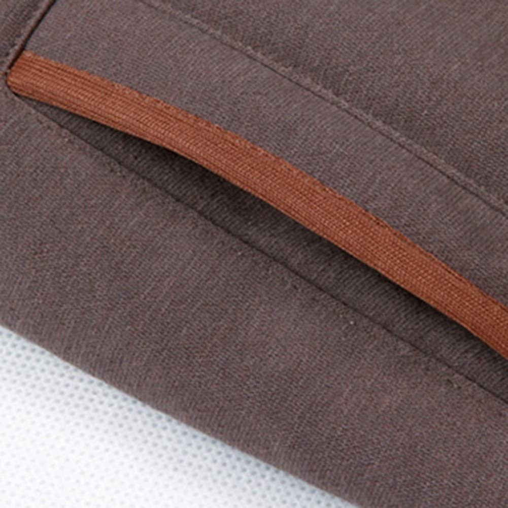 Colors of Rainbow Mens Hoodie Coat Warm Button Closure Casual Hooded Sweatshirt Jacket Outwear