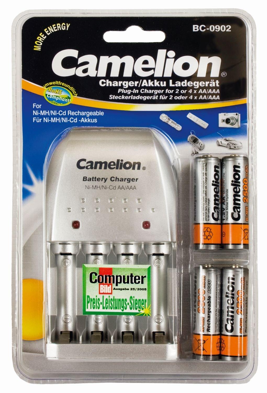 Camelion Battery Charger Ni Mh Cd Aa Aaa 9v Spec Dan Daftar Bay 9 Volt Smart 8 X 300 Mah Accupower Nimh Bc 0902