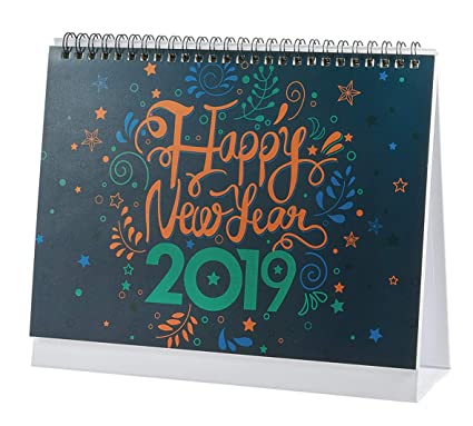 December 2019 January 2019 Daily Calendar Amazon.com: January 2019 to December 2019 Desk Monthly Calendar