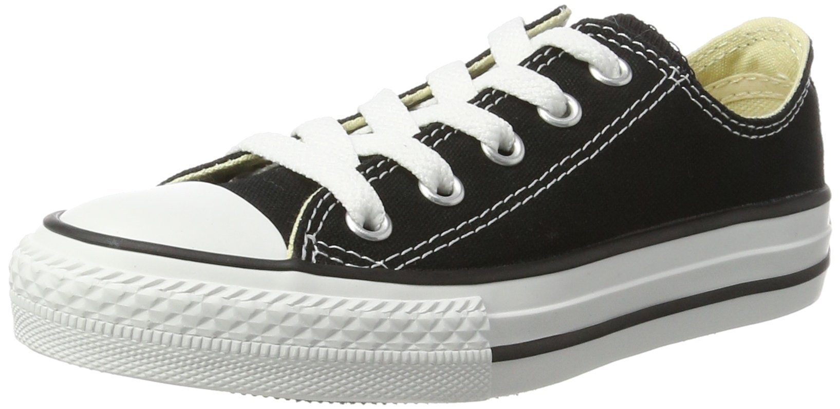 Converse unisex-baby Chuck Taylor All Star  Low Top Sneaker, black, 3 by Converse