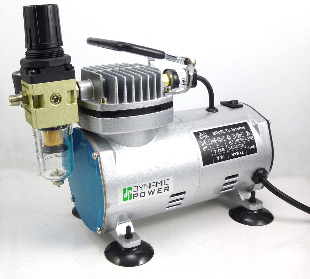 Dynamic Power Professional 1/5HP MINI Air Compressor, D380020