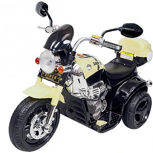 電動 乗用 バイク 014【黒】/ 乗用玩具 / アメリカン タイプ / CBK-014-BK