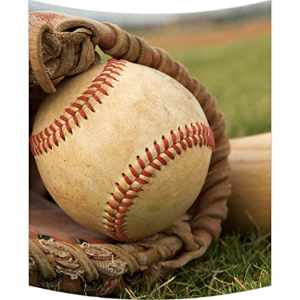 Amazon.com: Custom Vintage Baseball Wall Art Tapestries Home Decor ...