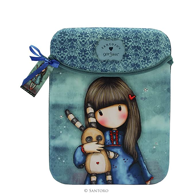 Santoro Gorjuss iPad Tablet Sleeve - Hush Little Bunny