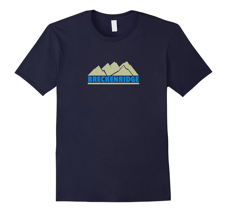 Breckenridge Colorado - Green Mountain T-Shirt-RT