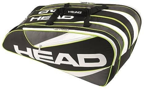 3731693b87 Head Elite Monster Combi - Borsa da Tennis, Unisex, Elite 12R monstercombi,  Nero