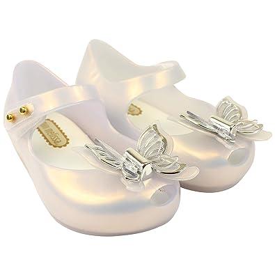 b2f20bddfea8 Mini Melissa Mini Ultragirl Butterfly Frost 52954  Amazon.co.uk  Shoes    Bags