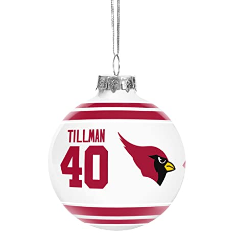 8231590d1 Forever Collectibles NFL Retired Players Christmas Holiday Glass Ball  Ornament-2 5 8 quot