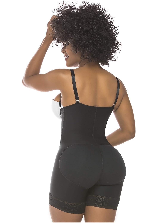 Salome 0215 Women Flat Tummy Control Butt Lifter Body Shaper Fajas Colombianas