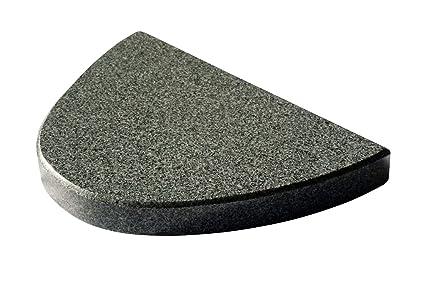 halbo valer Barbacoa piedra de granito para el Barbacoa – 30 cm de longitud 20 cm