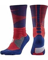 Nike Mens Hyper Elite Disruptor Basketball Crew Socks