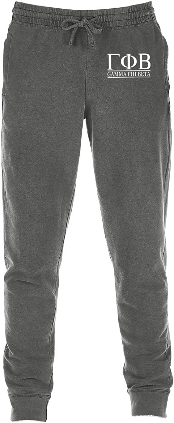 Go Greek Chic Gamma Phi Beta Jogger Sweatpants