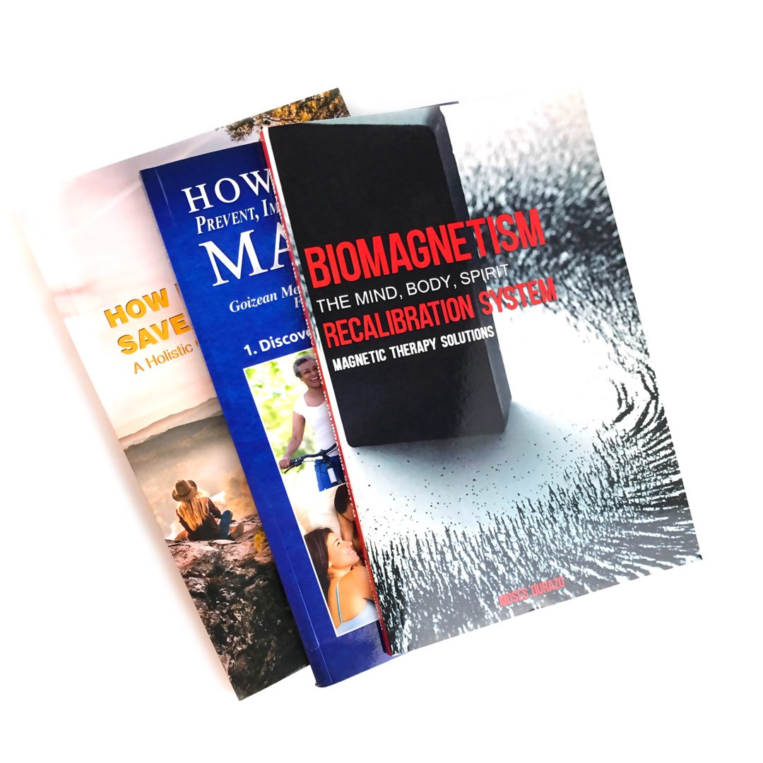 ULTIMATE Biomagnetic Therapy, 3 Books and 10 Magnets (count) for Pain Relief, Detoxification, Boost Immune System & Mental Wellness, Durazo Medical Health Magnets with Instructions by Super Stars (Image #3)