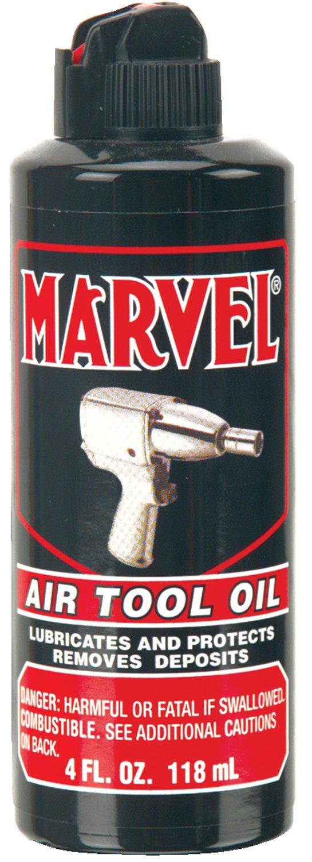 Marvel Mystery Oil 080 Air Tool Oils, 4 oz, Bottle (Pack of 12) by Marvel Mystery Oil