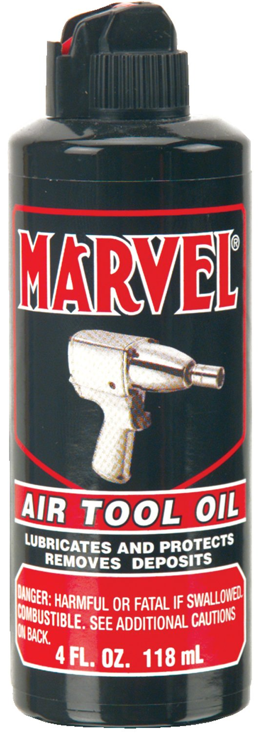 Marvel Mystery Oil 080 Air Tool Oils, 4 oz, Bottle (Pack of 12)