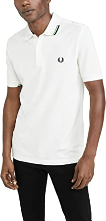 Fred Perry Asymmetric Tipped Polo Shirt Hombre: Amazon.es: Ropa y accesorios