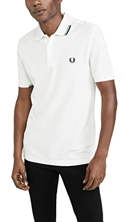 Fred Perry Asymmetric Tipped Polo Shirt Hombre: Amazon.es: Ropa y ...