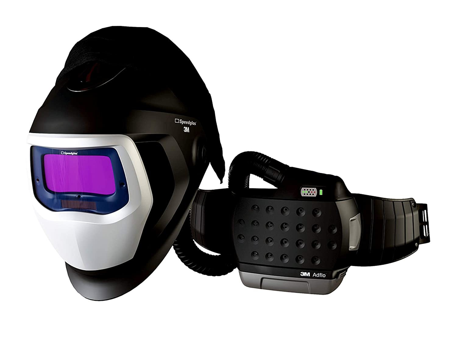 Image of 3M Adflo Powered Air Purifying Respirator HE System with 3M Speedglas Welding Helmet 9100-Air, 35-1101-20SW, 1 ea/Case Hard Hat Accessories