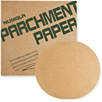 Numola 7 Inch Air Fryer Liners, 100pcs Perforated Parchment Paper Compatible with Philips, Cozyna, Secura, NuWave Brio…