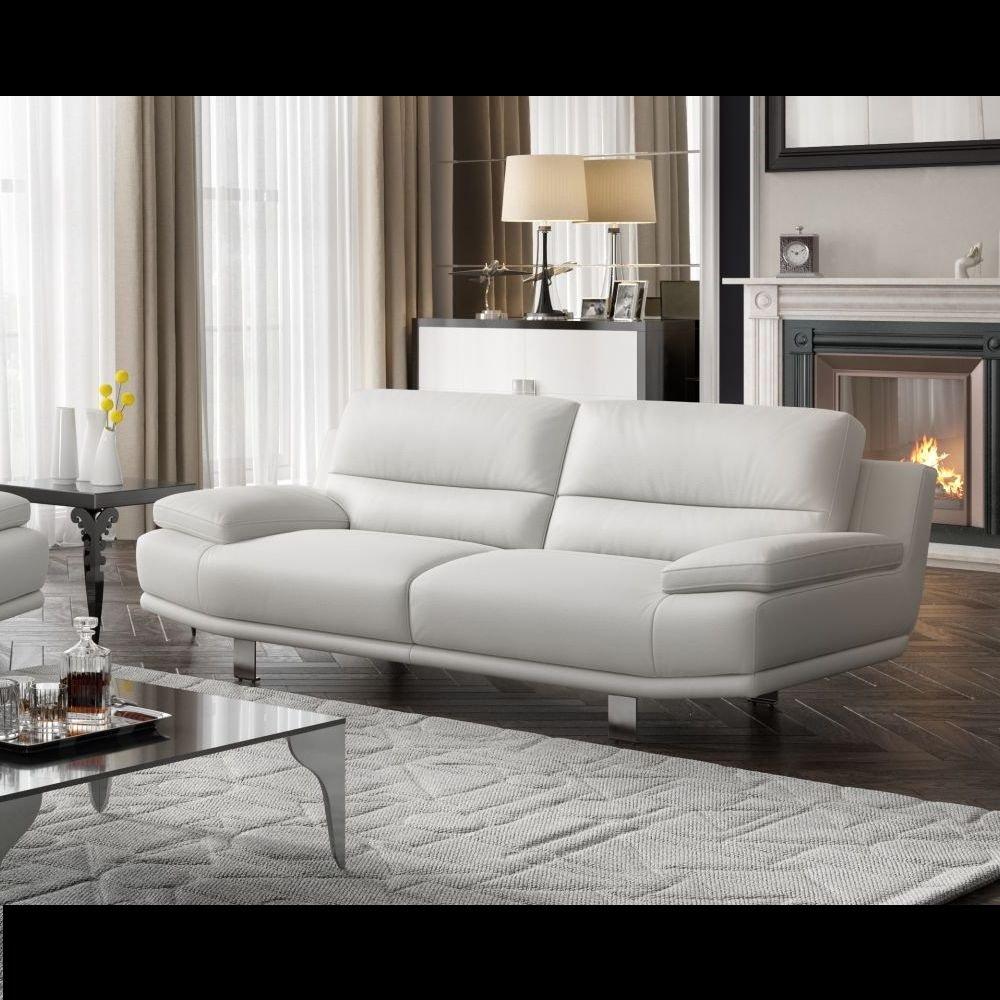 Leder Sofa Couch 2-Sitzer Designer Polstergarnitur Sitzgruppe Couchgarnitur