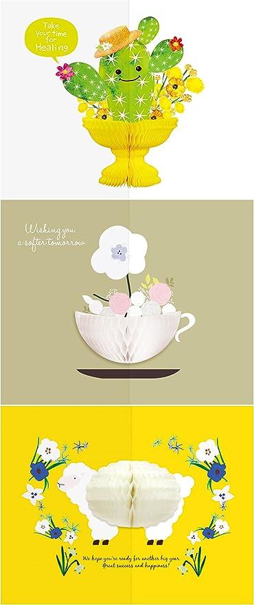 Terrific Yuricom Handmade Honeycomb Pop Up Thanks Card Honeycomb Pop Up Personalised Birthday Cards Paralily Jamesorg