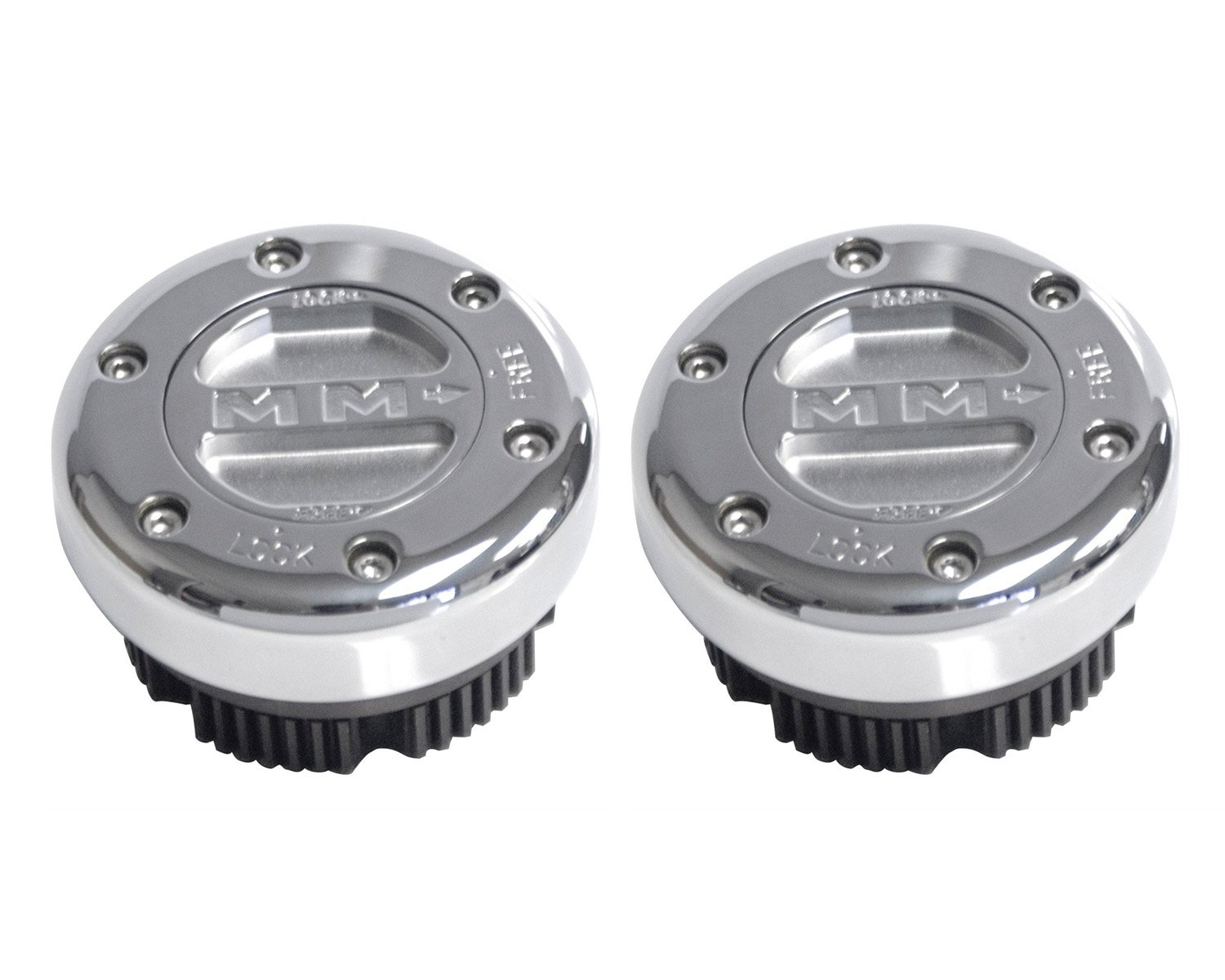 Mile Marker 449S/S Lock Out Hub, 1 Pair by Mile Marker