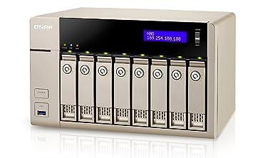 Qnap TVS-863-8G - Servidor de Almacenamiento NAS: Qnap: Amazon.es: Informática