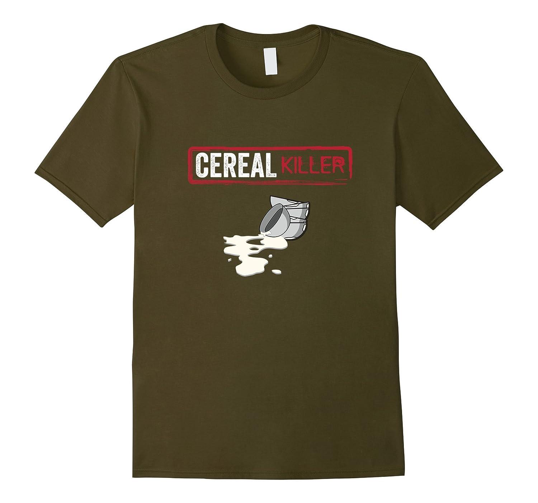 Cereal Killer Funny Halloween Costume Shirt Breakfast Gift-T-Shirt