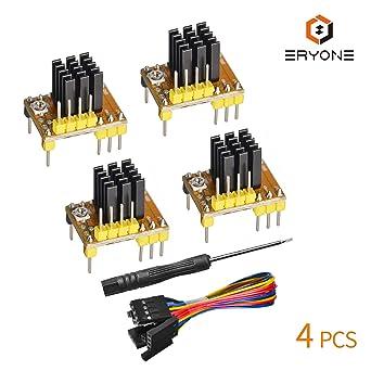 Amazon.com: TMC2208 V1.2 Módulo controlador de motor paso a ...