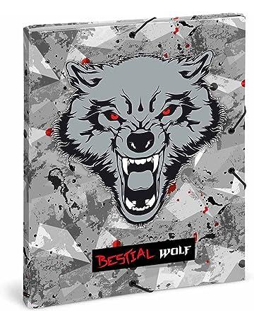 Carpeta clasificadora Bestial Wolf by DIS2