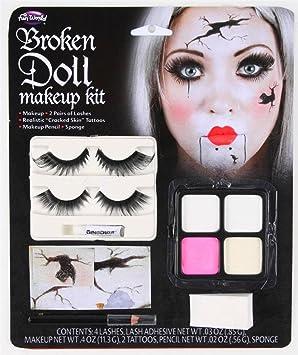 Broken Doll ~ Skull Candy make-up Set ~ China Doll ~ Halloween ...