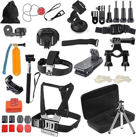 vinteky® – Neceser accesorios 52 en 1 – Neceser para GoPro ...