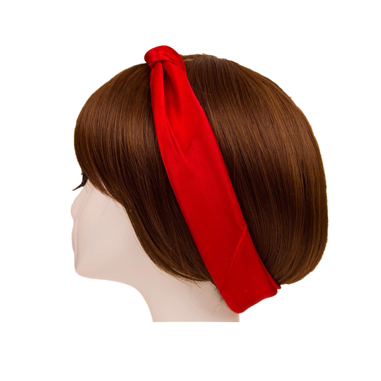 Damen Unifarbe Schal f/ür Kleider Quadratische Halstuch Bindeschal DIY Kopftuch Mehrfarbig
