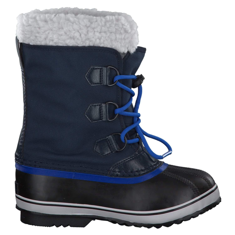 Sorel Yoot Pac Nylon Boot - Boys' Collegiate Navy/Super Blue, 6.0 by Sorel (Image #8)