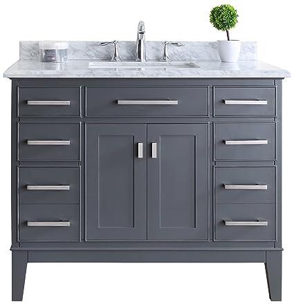 Prime Ari Kitchen And Bath Akb Danny 42 Mpgr Danny Vanity Set 42 Maple Grey Download Free Architecture Designs Scobabritishbridgeorg