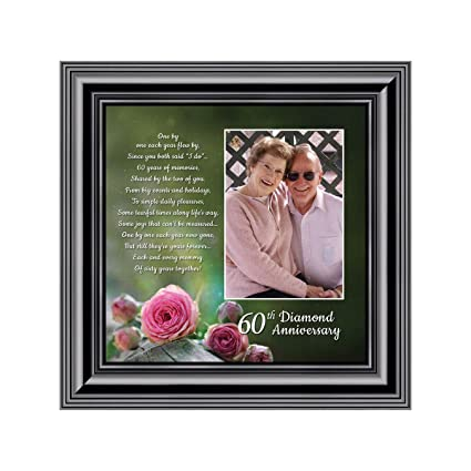 60Th Anniversary Gifts >> Amazon Com Personally Yours Diamond 60th Anniversary Picture