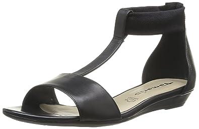 8b3378327c66 Tamaris Women s 1-1-28149-22 001 Fashion Sandals Black Noir (Black ...