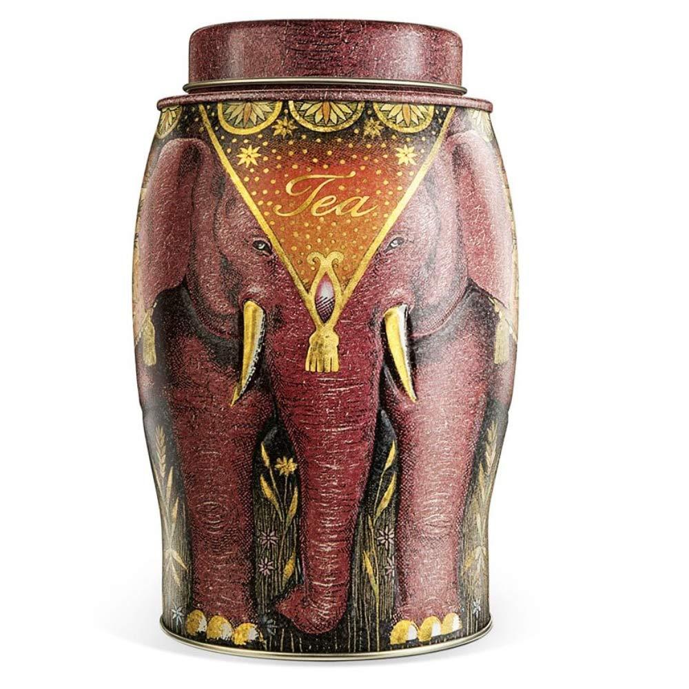 Williamson English Breakfast Elephant Tea Caddy