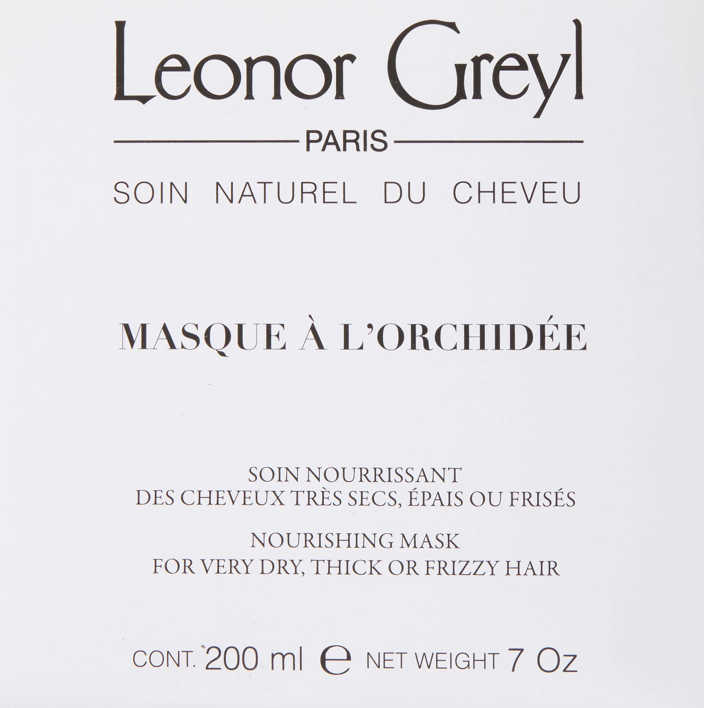 Leonor Greyl Paris Masque A L'Orchidee - Deep Conditioning Mask for Dry, Thick or Frizzy Hair, 7 oz. by Leonor Greyl Paris (Image #3)