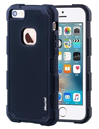 Amazon.com: iPhone se funda, iPhone 5S 5 Caso Ithuriel suave ...