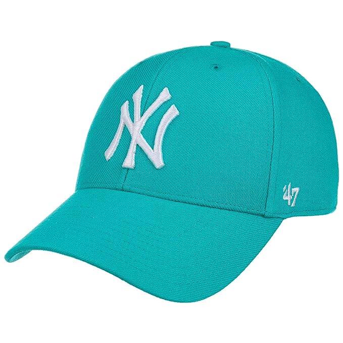 Gorra curva azul neptuno snapback de New York Yankees MLB MVP de 47 Brand -  Azul e259905f0ef