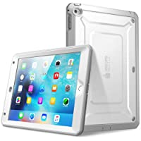 iPad Mini 4 Case, SUPCASE [Heavy Duty] Apple iPad Mini 4 Case 2015 [Unicorn Beetle PRO Series] Full-Body Rugged Hybrid Protective Case Cover with Built-in Screen Protector (White/Gray)