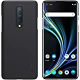 Nillkin Oneplus 8 Case, Super Frosted Shield Series Anti-Slip Hard Back Cover Case for Oneplus 8 (1+8) [Black Color] By Nillkin Accessories